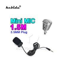 Microphone Lavalier Clip Hands-Noise-Reduction Lapel Kebidu for Laptop PC Length-Cable