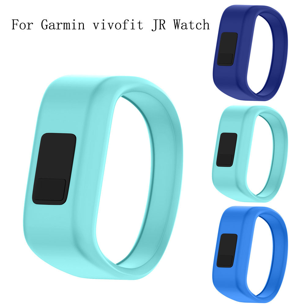New Watch Band Small Replacement Silicone Wrist Band Silicon Strap Clasp Wristband For Garmin vivofit JR Watch BTTF soft adjustable silicone replacement wrist watch band for garmin forerunner 920xt gps watch purple