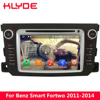 KLYDE 4G Octa Core Android 8.0 4GB RAM 32GB ROM Car DVD Multimedia Player Stereo Radio For Mercedes Ben Smart Fortwo 2011 2014