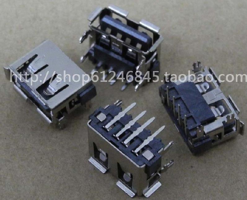 WZSM Wholesale NEW USB Jack for HP Lenovo Acer Asus Laptop USB port plug socket interface short body