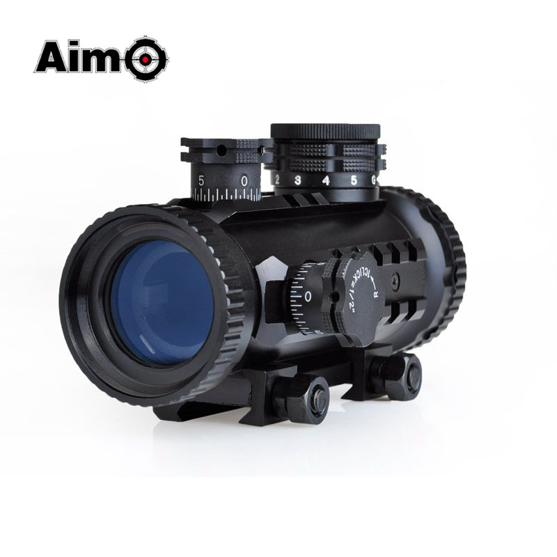 Aim-O Red Green Dot Sight Tactical Rifle Scope For Airsoft Rifle Gun 20mm RIS Rails AO3014 hot sale new 2017 fashion flats women breathable sport woman shoes casual outdoor walking women flats zapatillas mujer