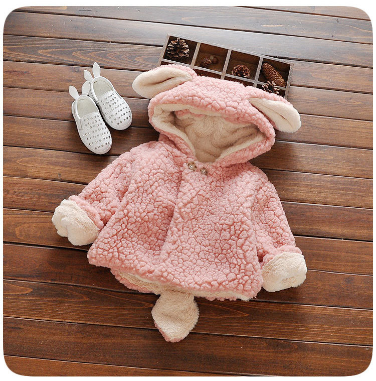 Baby jas Winter Baby Meisjes Kleding pasgeboren warm snowsuit bovenkleding bebe hoodie bont dikke peuter kinderen jongens Sneeuw Jas 3