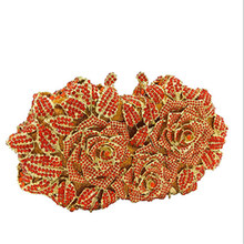 051400d47d5f New Design Luxury Diamond Clutch Ladies Pink Wedding Purses Girls Party  Bags Women Gold Evening Bag Top Qaulity purse lady