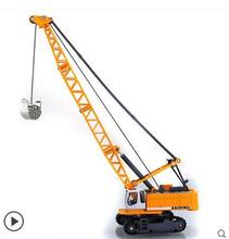 Full alloy tower cable mining car tower crane engineering alloy car toy