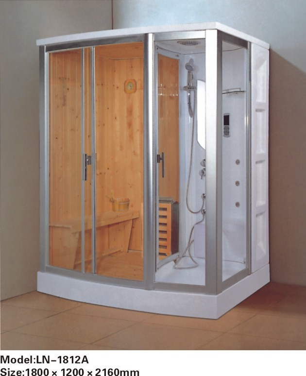 Luxury glass door sauna steam shower room on Aliexpress.com ...