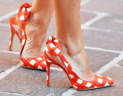 New Arrival Sweet Ladies Elegant High Heel Shoes Fashion Mixed Color Plaid Pointed Toe Butterfly Women Party Pumps Heel Shoes plus big size 34 52 shoes woman 2017 new arrival wedding ladies high heel fashion sweet dress pointed toe women pumps e 177
