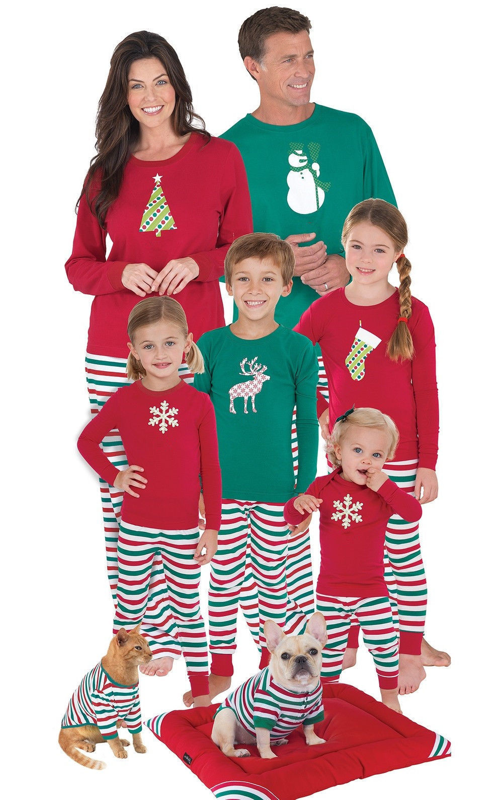 PUDCOCO Newest 2018 Hot Christmas Family Matching Pajamas ...