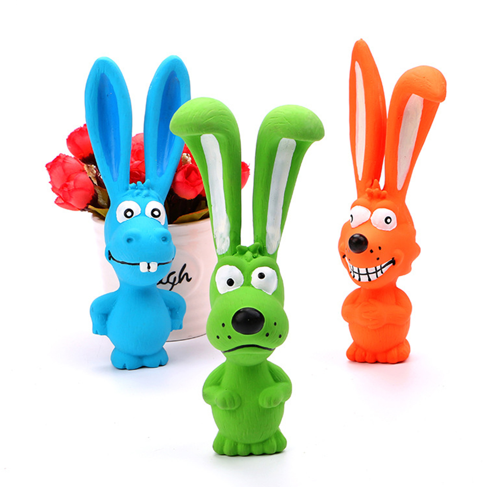 cute pet dog chew toys for pet toys dog cat Vocalizations latex chew squeak toy Bite Squeaker Squeaky Sound Play Toys