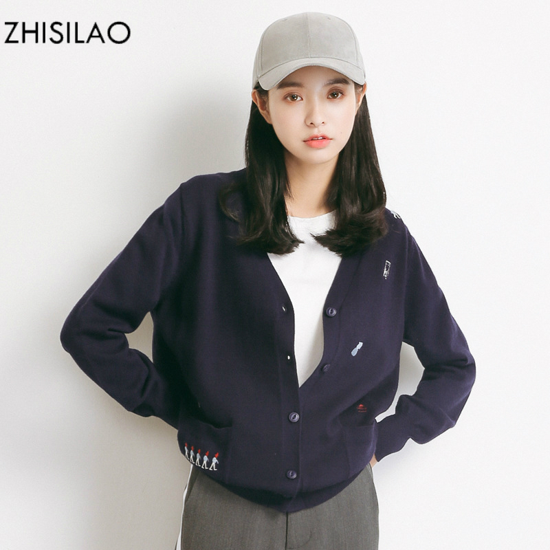 ZHISILAO 2018 Sweaters Woman Sweater Cardigan Woman Poncho Sweater Cashmere Pull Femme Hiver Solid Sweater Cape Short Cardigan