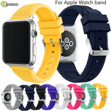 correa watch Strap band For Apple Watch Series 1 2 3 4 38mm 42mm 44mm 40mm Replacement for iwatch 4 bands bracelet Watchstrap