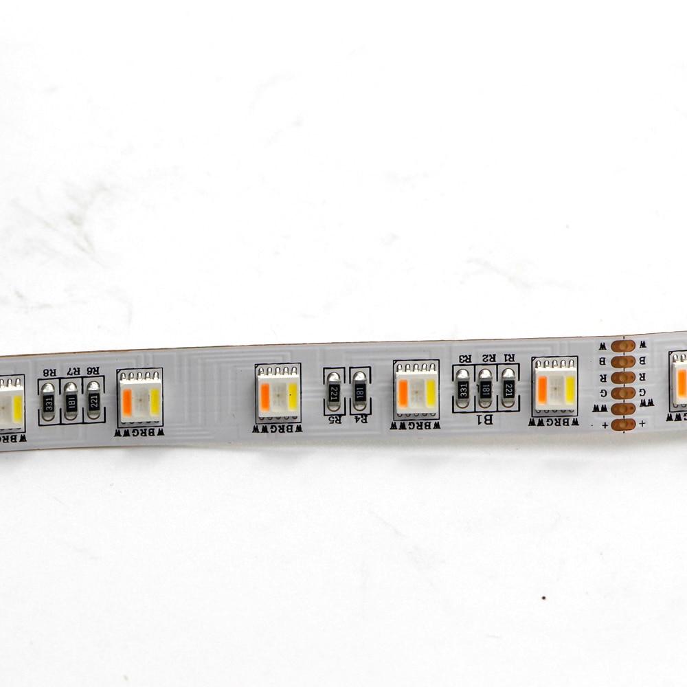 5m 5050 RGB LED Strip light RGBW RGB CCT White 5in1 RGB CCT Under Cabinet Lights