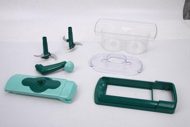 Schneidemaschine Küche Nizza Dicer Fusion Neue Multifunktionale Schredder  Fusion Set