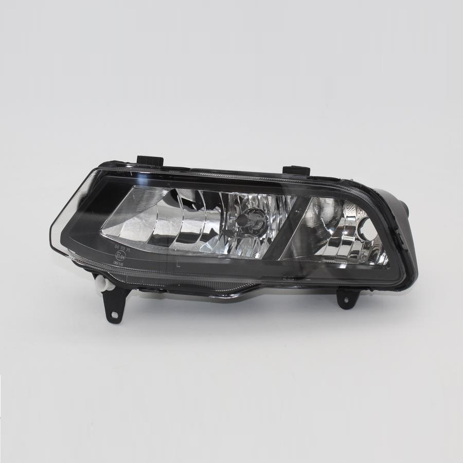 Left Side Car Light For VW Polo Vento Derby 2014 2015 2016 2017 Car-Styling Front Halogen Fog Light Fog Lamp Assembly Two Holes 2pcs auto right left fog light lamp car styling h11 halogen light 12v 55w bulb assembly for ford fusion estate ju  2002 2008