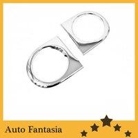 Auto Chrom Teile Chrom Kopf Licht Abdeckung für Toyota FJ Cruiser 07-12-Freies Verschiffen