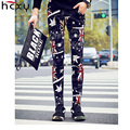 2016 autumn and winter new mens and Ms trousers fashion men and women trousers Slim pants cotton trousers street fashion pants