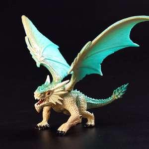 Image 3 - 1 個 12 センチメートルシミュレーションマジックドラゴン恐竜始祖鳥 pvc 固体アクションフィギュア玩具人形モデル装飾子供大人のギフト
