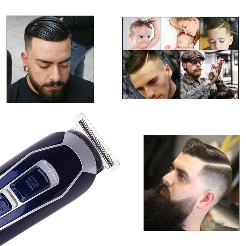 Electric Hair Clipper Rechargeable Low Noise Hair Trimmer Hair Cutting Machine Beard Shaver Trimer For Men Barber Hair Shaving