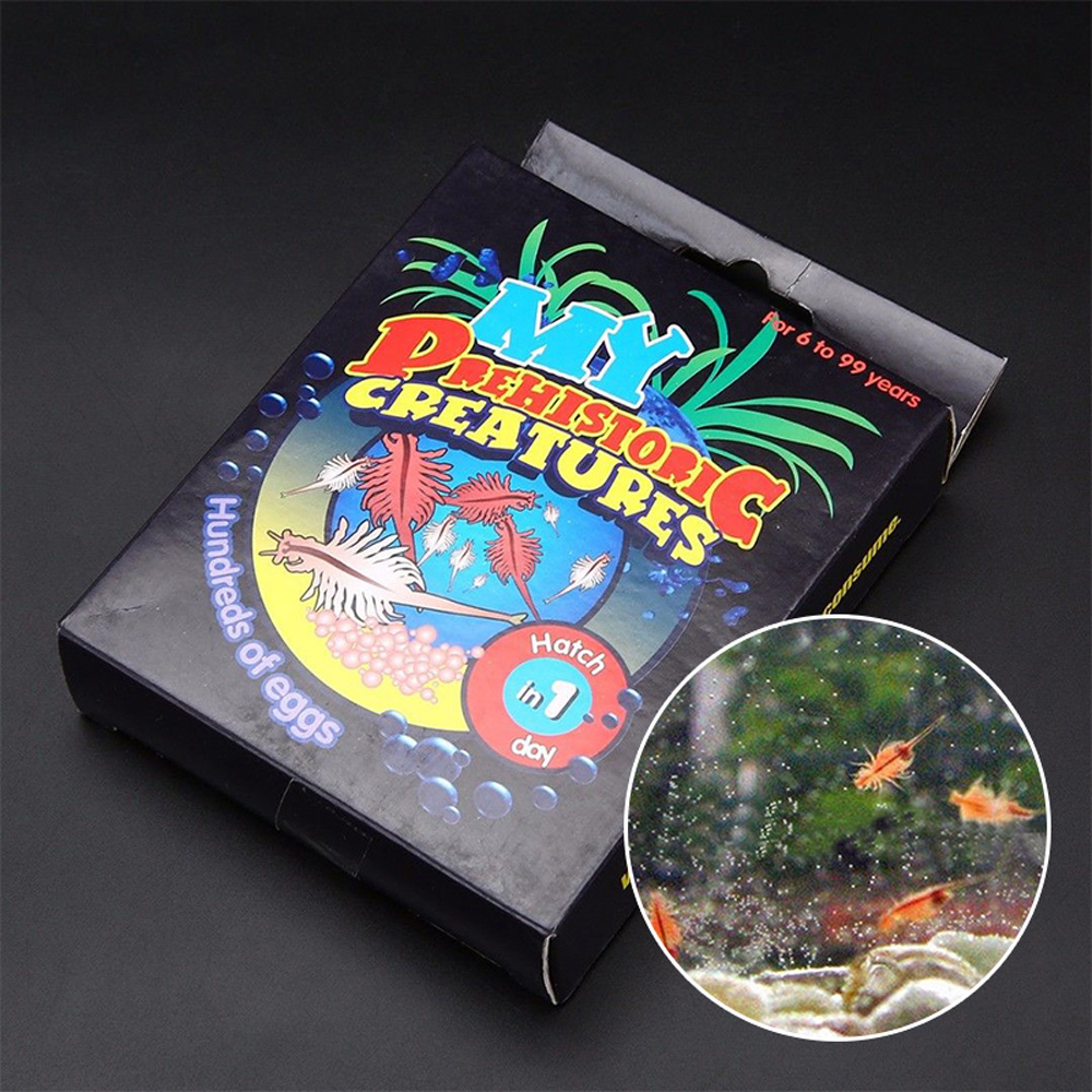 Sea Monkey Egg Accessories Live Sea Monkey Growing Kit Ocean Zoo Marine Monkey Tank Aquarium Toy Pet