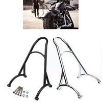 Burly Shorty Sissy Bar Bracket Motorcycle Back Rest For Harley Sportster 883 1200 XL XL883 XL1200 2004 2016 2005 2006 2007 2008