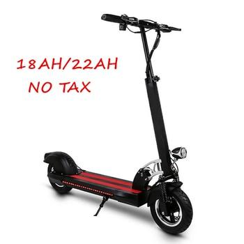 Scooter Eléctrico de 10 pulgadas Mini Scooter plegable portátil para adultos fuera de carretera monopatín eléctrico de litio bicicleta Scooter Eléctrico