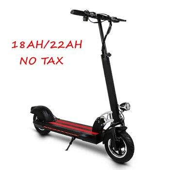 Scooter eléctrico portátil de 10 pulgadas Mini Scooter plegable para adultos fuera de carretera monopatín eléctrico de litio bicicleta Scooter