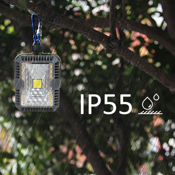 T-SUNRISE LED Camping Lights 3 Mode Outdoor Tent Camping Lantern Solar Flashlights Lamp USB Rechargeable Portable Hanging Lamps 4