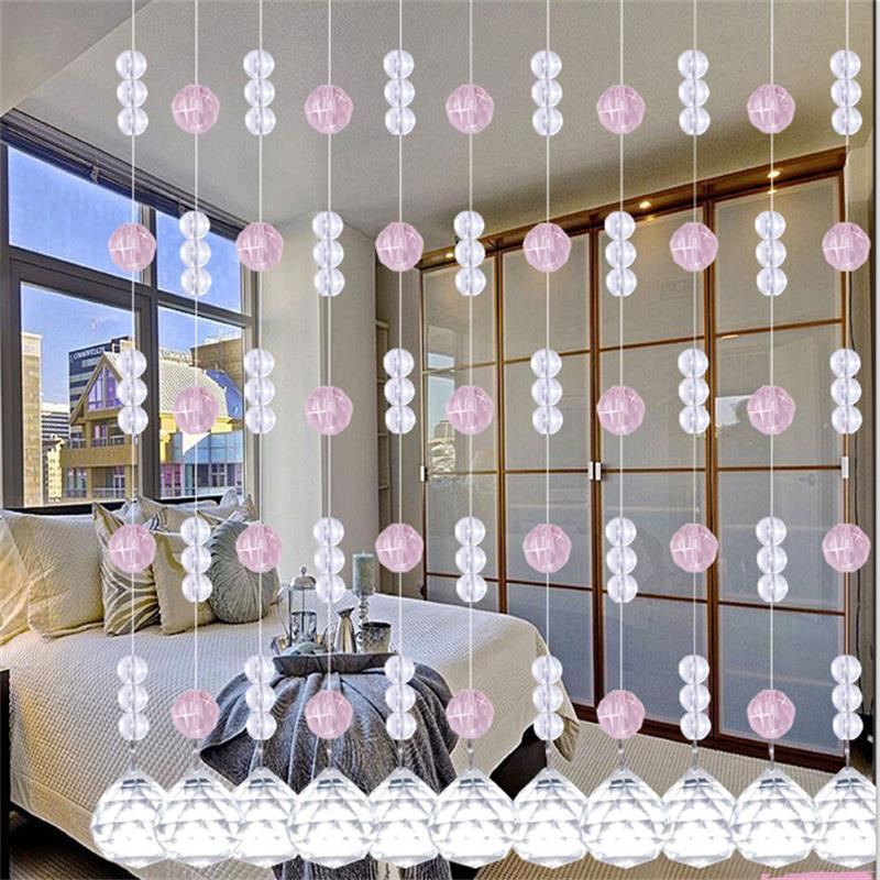 Attirant Aliexpress.com : Buy 20Meter 100% Crystal Beads Rope Curtain Bedside Living  Room Bedroom Door Dining Hall DIY Wall Curtain Bead Home Party Decor TP09  From ...