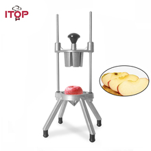 ITOP Fruit Divider One-piece Molding Vegetable Cutter Apple Potato Slicers With Stainless Steel Blade Tools