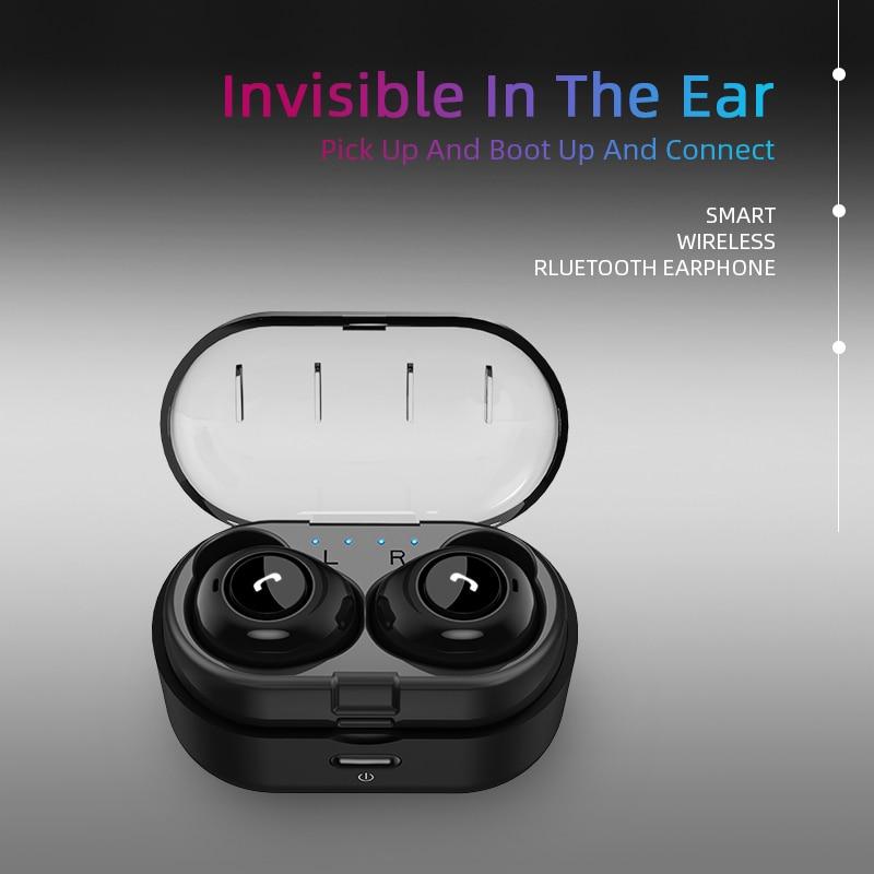 Capsule TWS Wireless Earbuds V5.0 Bluetooth Earphone With Deep Bass 13