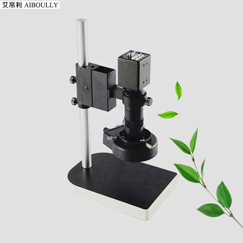 Microscope vidéo loupe numérique 2 mégapixels VGA caméra outil de Diagnostic de réparation Mobile M1218 c-mount lentille SMT détection LCD