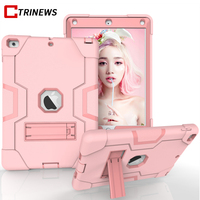 Armor Tablet Hybrid Case For IPad 2 3 4 Hard PC Silicone Stand Shockproof Full Protective