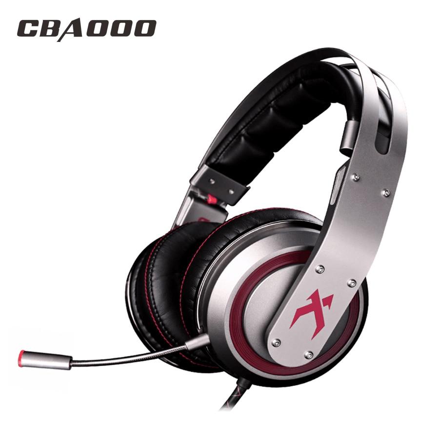 купить CBAOOO T19 Gaming Headphones wired Headphone Hi-Fi Subwoofer Stereo Headset with Microphone for PC недорого