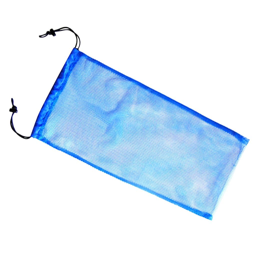 f6831e28a3 Azul de seguridad buceo Snorkel natación aletas de almacenamiento de  calzado llevar bolsa de malla bolsa de 20 KG por equipo de buceo accesorio  en Piscina y ...