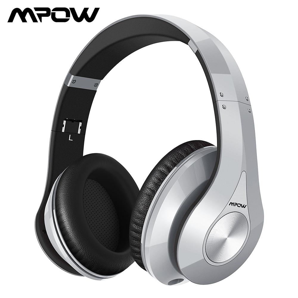 Mpow 059 บลูทูธ 4.0 หูฟังหูฟังไร้สายพร้อมไมโครโฟนในตัวพับได้สำหรับสมาร์ทโฟน Pad PC แท็บเล็ตทีวี-ใน หูฟังบลูทูธและชุดหูฟัง จาก อุปกรณ์อิเล็กทรอนิกส์ บน AliExpress - 11.11_สิบเอ็ด สิบเอ็ดวันคนโสด 1