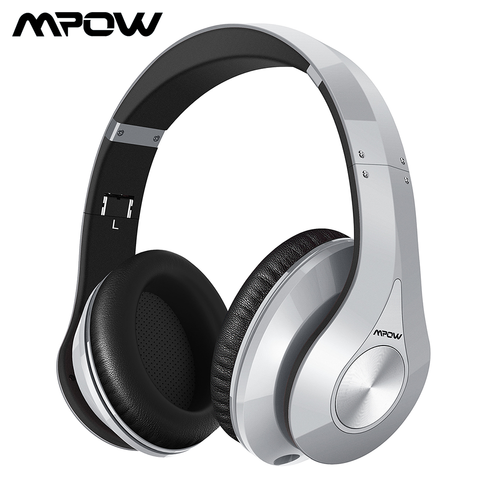 Mpow 059 Bluetooth 4.0 Headphones Wireless Headphone Headset With Built-in Mic Foldable Headband For Smartphone Pad PC Tablet TV mpow wireless headphone bluetooth 4 1 in ear headset with remote control