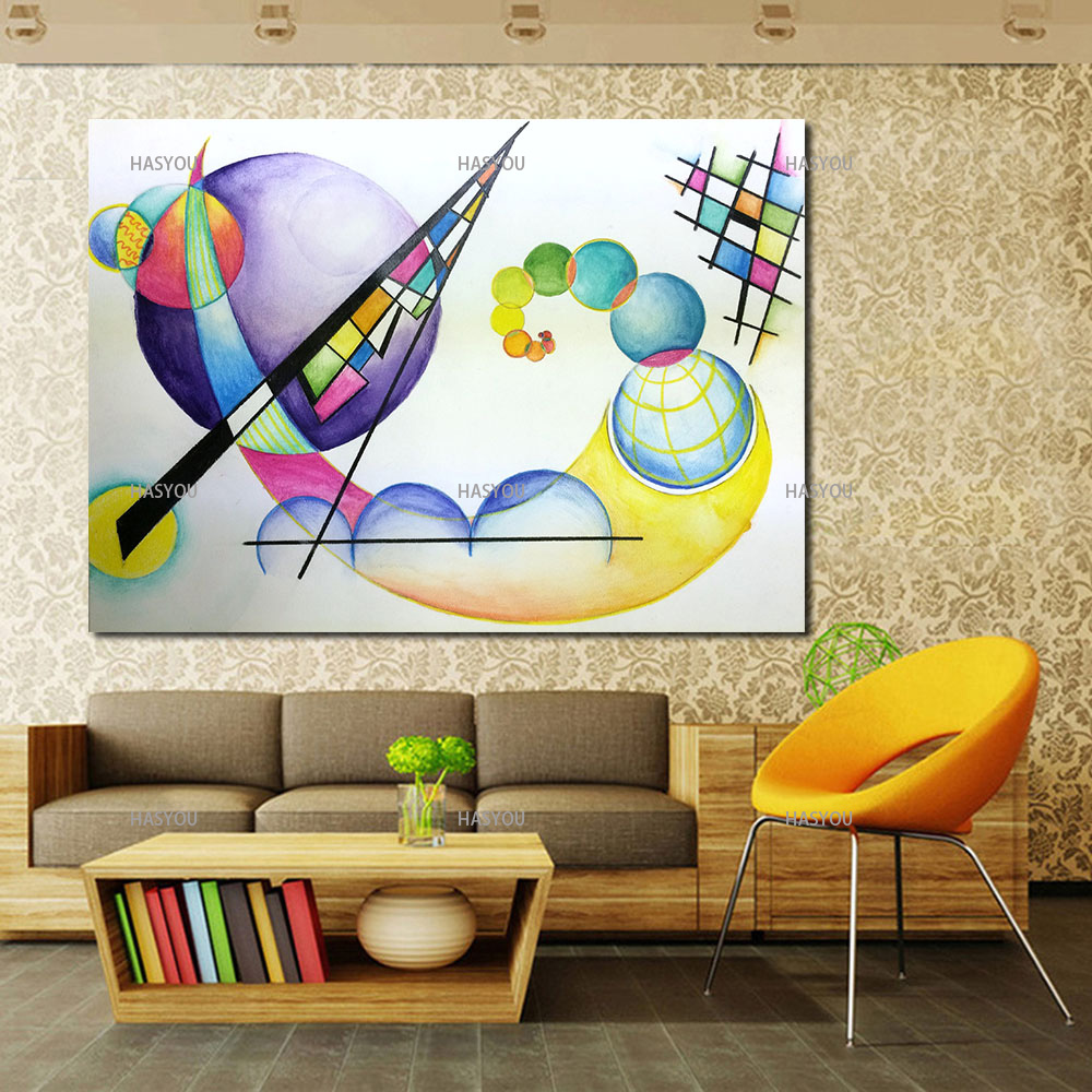 HASYOU Best Abstract Wall Art Pictures For Living Room Home Decor ...