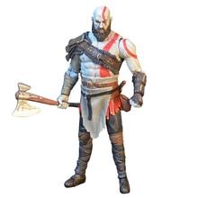 18cm savaş NECA God 4 Kratos Action Figure koleksiyon Model oyuncaklar orijinal figürü bebek