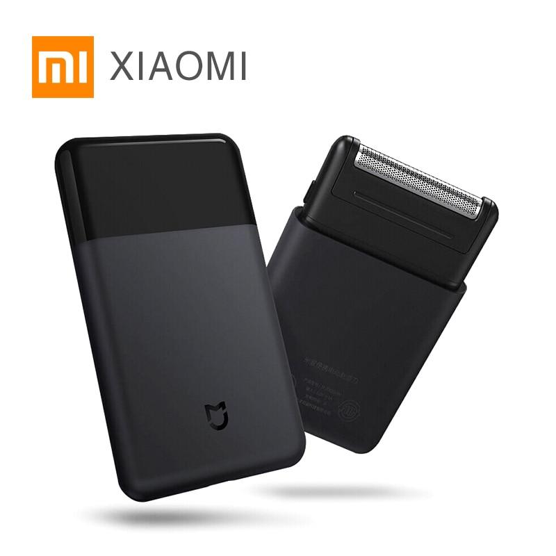 Xiaomi Original Mijia Electric Razor Mini Portable Sh aver Man Japan Steel Cutter USB Type C