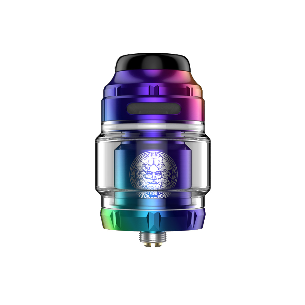 2pcs Original GeekVape Zeus X RTA Tank 4.5ml/2ml Postless Build Deck E-cigarette Vape Tank Fit for Drag 2 Mod VS Dead Rabbit MTL