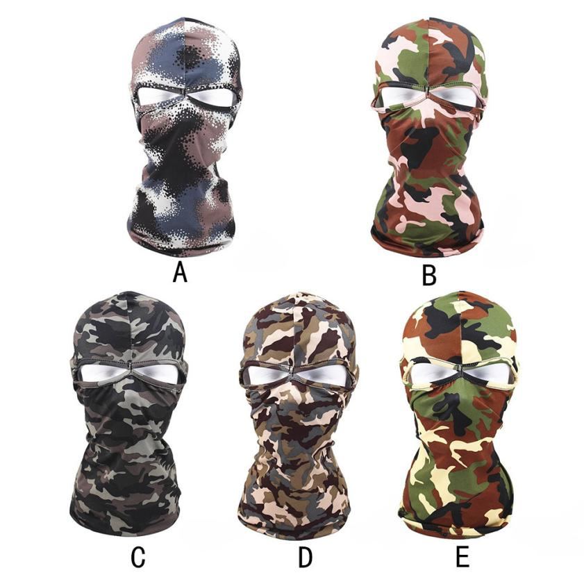 1PC Tactical Motorcycle Cycling Hunting Outdoor Ski Full Face Mask Helmet Windproof Soft ...