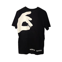 Knitted O-neck Casual T Shirt Men Hip Hop Tshirt Off Brand In Big Printing Leisure Loose T-shirts Mens Cotton Boom New Sale