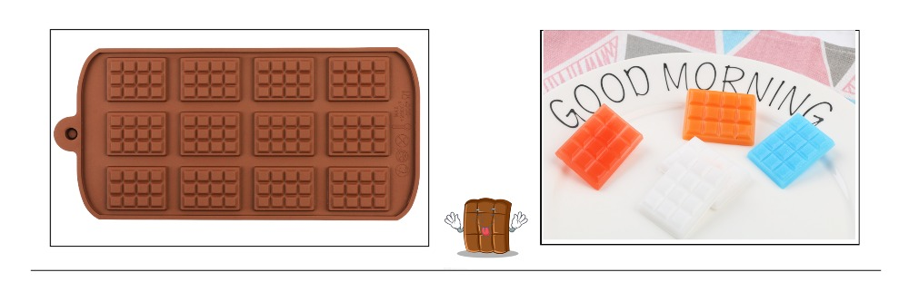 29 Shapes Silicone Baking Molds Made Of Pure Silicon Material For Jelly And Candy Mold 26