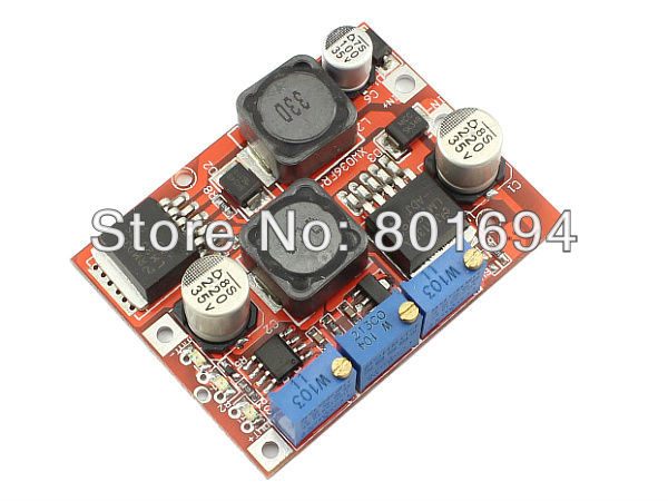 DC-DC Automatic Boost Buck Converter 4-35V to 1.25-25V 3A 15W Step-up/down Module Regulator with CC/CV Charging LM2596 LM2577 rs232 to rs485 converter with optical isolation passive interface protection