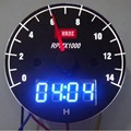 car tachometer meter rpm +time led digital water gauge