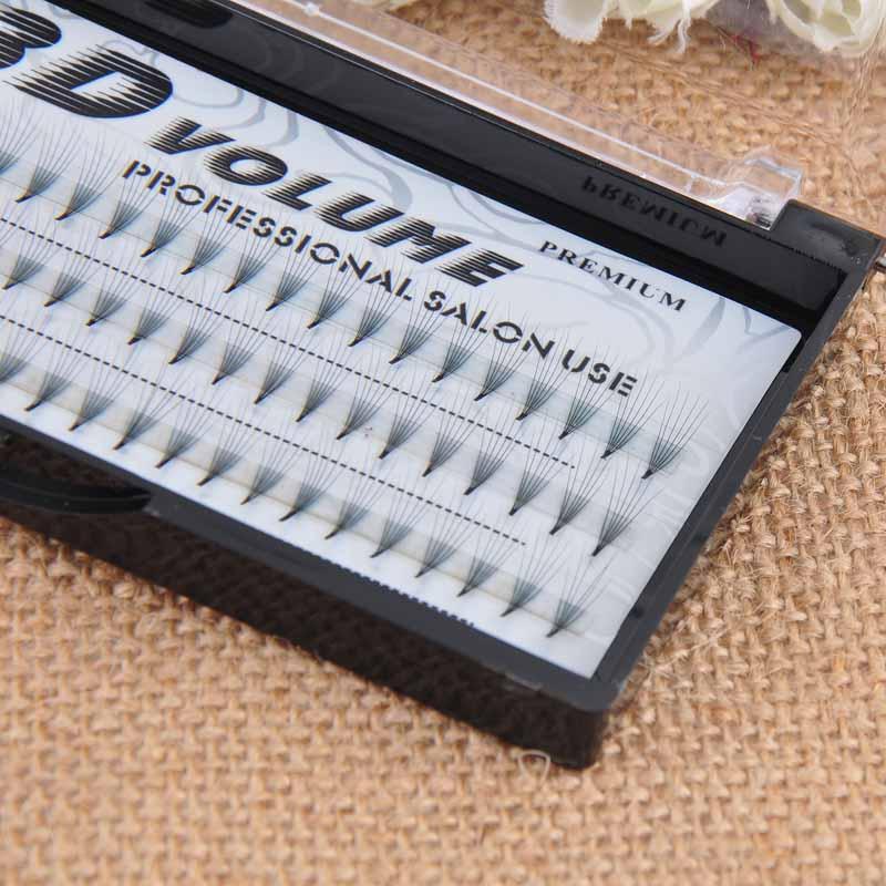 FUZHAN 3D Volume 3 4 5 6 Flares Professional Black Single Individual False Cluster Long Eyelashes Extension Natural Grafting in False Eyelashes from Beauty Health