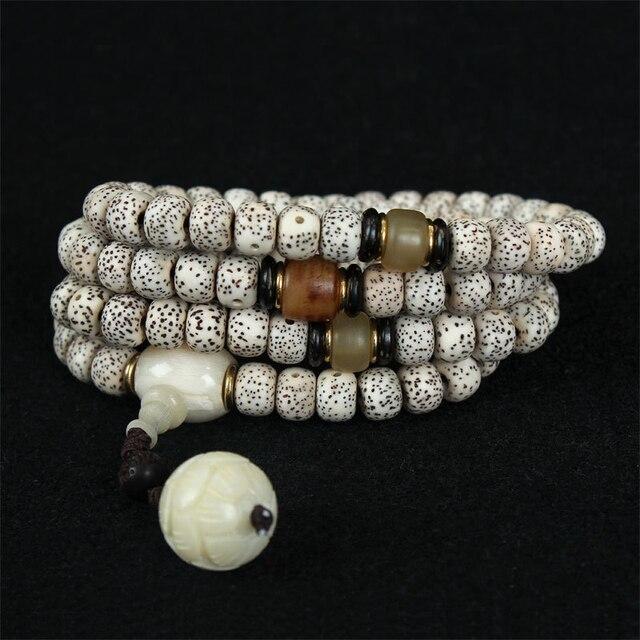 Pure Manual Weaving Bodhi Seed Bracelet Fashion Luxury High Quality Tibet Buddhist Prayer Beads Bracelet Female Money Jewelry