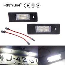 HOPSTYLING 2 pz free error LED License Plate Lamp + Luci Interne Kit Per Fiat Croma Grande Punto Linea Marea Multipla