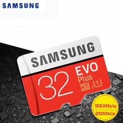 サムスンマイクロ SD カードメモリカード 32 ギガバイト Class10 TF カード 32 ギガバイト TF トランスフラッシュの microsd メモリアラムカード車レコーダー Huawei 社電話