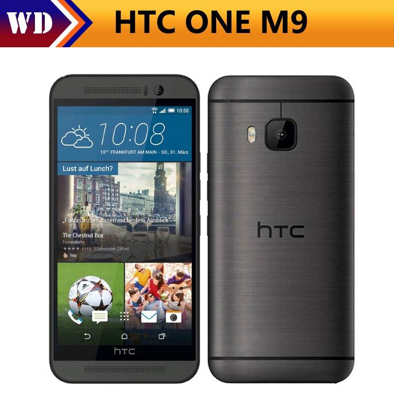 Цена за M9 оригинальный htc one m9 открыл мобильный телефон окта core 3 ГБ RAM 32 ГБ ROM 20MP Камера 3 Г и 4 Г WI FI GPS m9 сотовый телефон