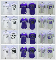 MLB High Quality Fast Shipping Colorado Rockies Trevor Story Nolan Arenado Todd Helton Charlie Blackmon Jerseys